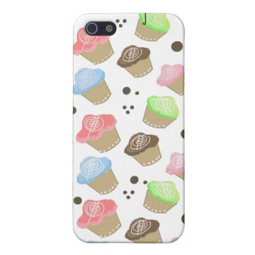 Professional Business Cute Mini Cupcakes Cover For iPhone SE/5/5s