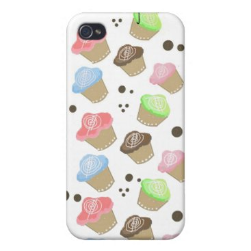 Professional Business Cute Mini Cupcakes Covers For iPhone 4