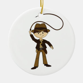 Cute Mini Explorer Ornament