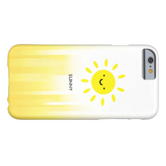 Cute Minimal Sunny Day iPhone 6/6s Case