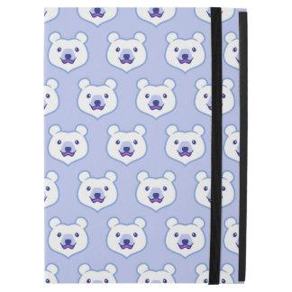 "Cute Minimalist Cartoon Polar Bear iPad Pro 12.9"" Case"