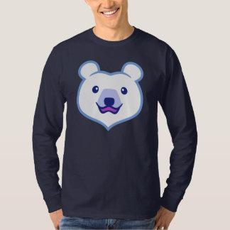 Cute Minimalist Cartoon Polar Bear Tee Shirts