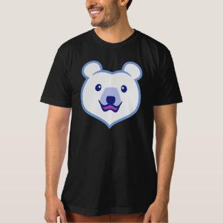 Cute Minimalist Cartoon Polar Bear Tees