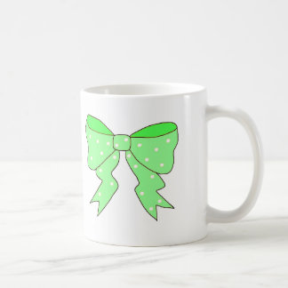 Cute Mint Bow Coffee Mug
