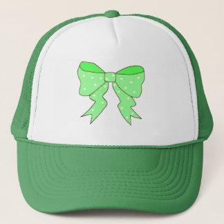 Cute Mint Bow Trucker Hat