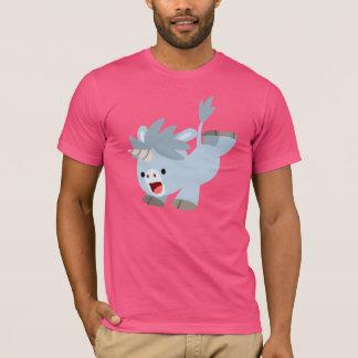 Cute Mischievous Cartoon Baby Unicorn T-Shirt