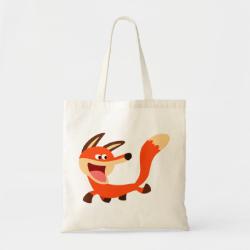 Cute Mischievous Cartoon Fox Bag