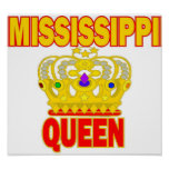 Cute Mississippi Queen poster