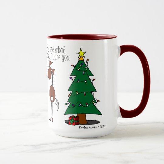 Cute Mistletoe Horse Cartoon Mug