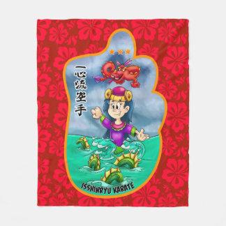 Cute Mitzu Gami (Isshinryu) blanket