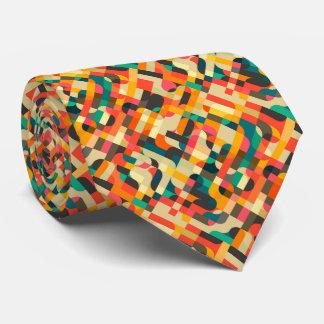 Cute mixed colors design tie
