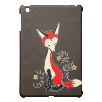 Cute Modern Artsy Fox Painting Case For The iPad Mini