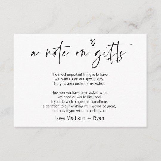 Wedding Wishing Well.Cute Modern Wishing Well Wedding Invitation Card