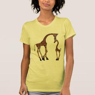Cute Mom & Baby Giraffe Shirt