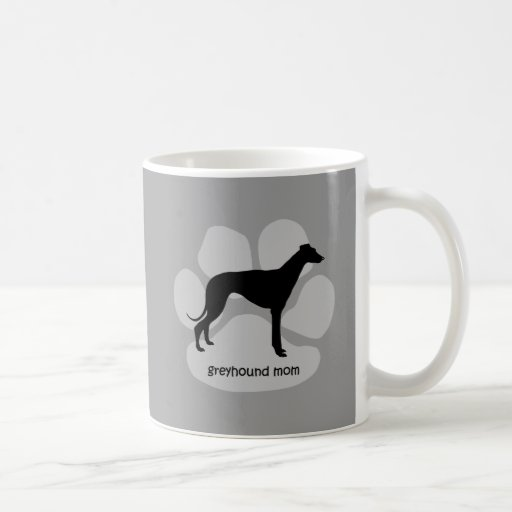 Cute mom Greyhound Coffee Mug