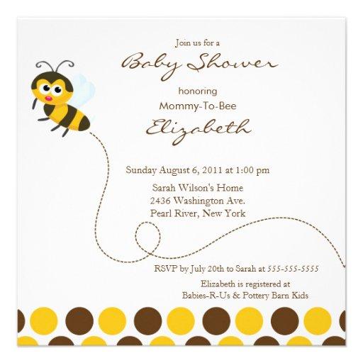 cute mom to bee baby shower invitation square invitation card