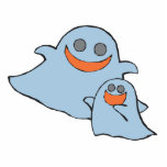 cute momma and baby ghosts cut outs