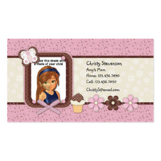 Cute Mommy Calling Card Business Cards