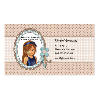 Cute Mommy Calling Card Business Card