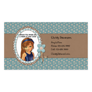 Cute Mommy Calling Card Business Card Templates