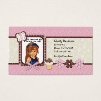 Cute Mommy Calling Card pocket calendar 2011