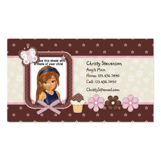 Cute Mommy Calling Card pocket calendar 2011 Business Card