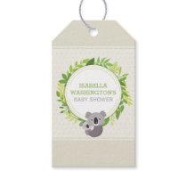 Cute Mommy Koala & Baby Koala Baby Shower Gift Tags