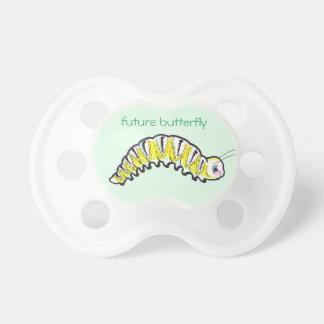 cute Monarch Butterfly caterpillar BooginHead Pacifier