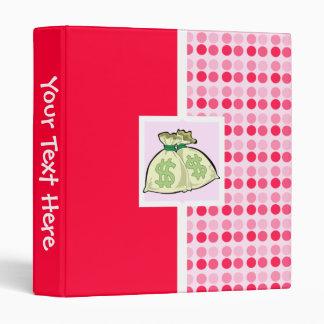 Cute Money Bags Binder