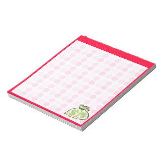 Cute Money Bags Notepad