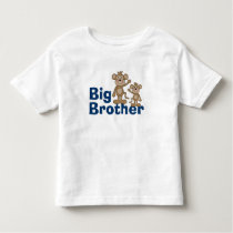 Cute Monkey Big Brother Toddler T-shirt