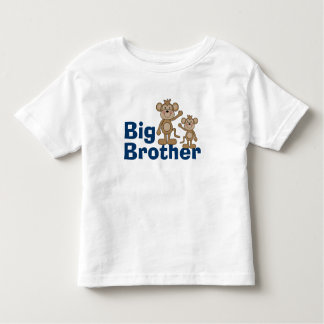 Cute Monkey Big Brother Tshirts