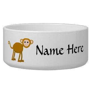 Cute Monkey. Bowl