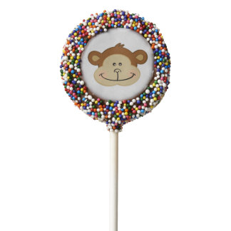 Cute Monkey | Chocolate Dipped Oreo Pops