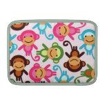 Cute monkey colorful Sleeve MacBook Sleeve