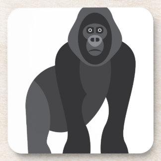 Cute monkey drink coaster