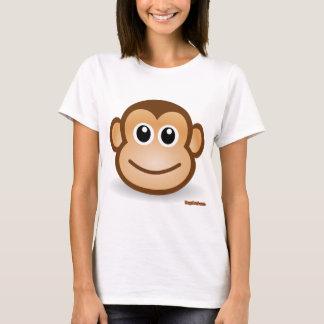 Cute Monkey Face T-Shirt
