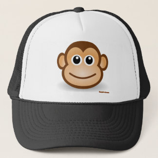 Cute Monkey Face Trucker Hat