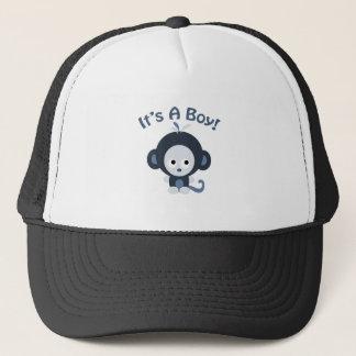Cute Monkey - It's a boy! Trucker Hat