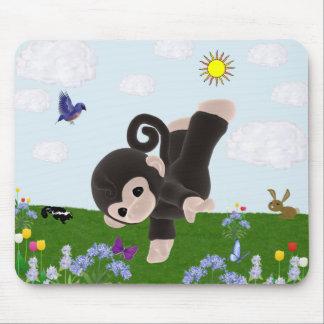Cute Monkey Mousepad