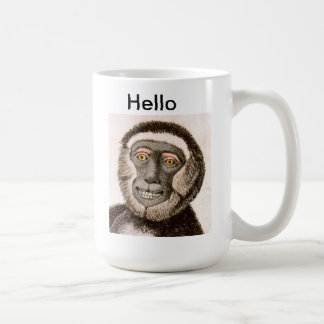 Cute Monkey MUG - Hello