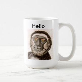 Cute Monkey MUG - Hello