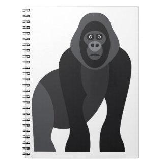 Cute monkey notebook