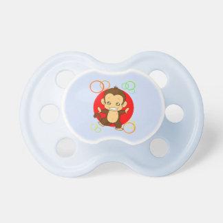 Cute monkey pacifier