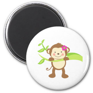 Cute Monkey.png Magnet