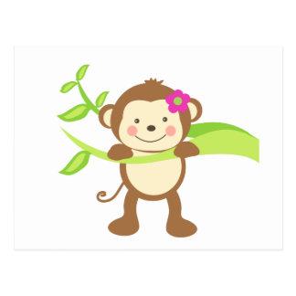 Cute Monkey.png Postcard