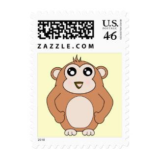 Cute Monkey Stamp