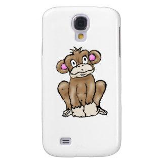 Cute Monkey Samsung Galaxy S4 Cover