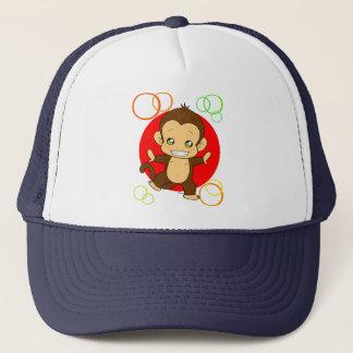 Cute Monkey Trucker Hat