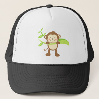 Cute Monkey Trucker Hat